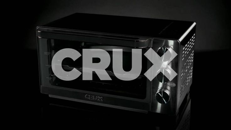 CRUX 6 Slice Toaster Oven