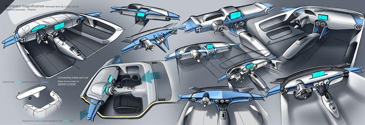 Mercedes-Benz SLC concept on Behance