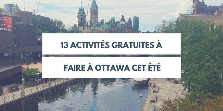 Située entre Montréal et Toronto, la ville d'Ottawa est souvent éclipsée par ces deux villes qui jouissent d'une immense popularité auprès des touristes. Il ne faut toutefois pas la sous-estimer. Certes, elle est beaucoup plus petite que ses consoeurs avec...