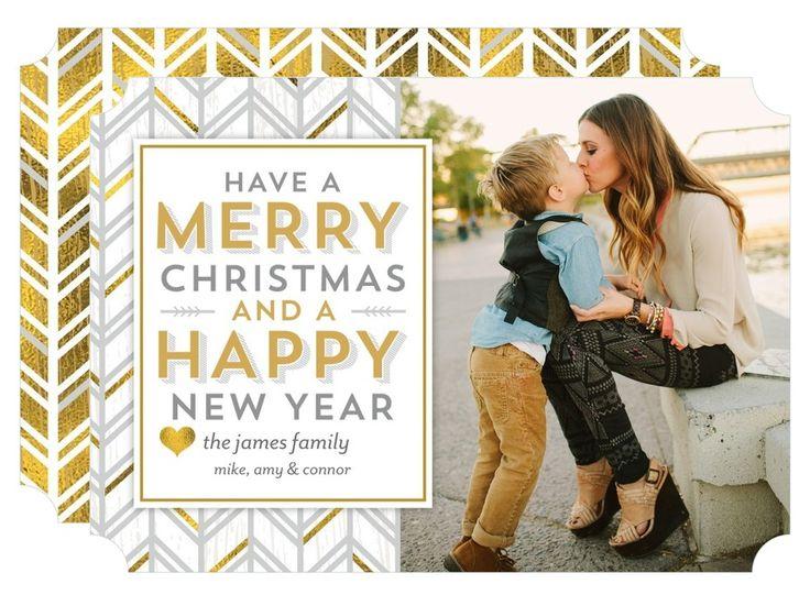 cheery greetings marigold christmas cards - Tiny Prints Christmas Cards