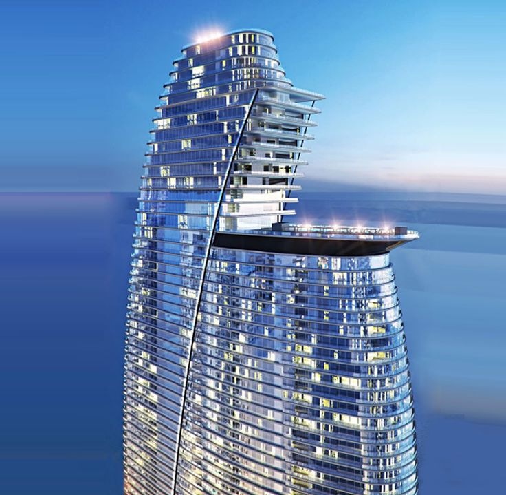 Aston Martin Residences tower. Shining like a diamond.