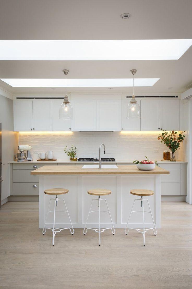 96 best White Kitchen Tile images on Pinterest | Kitchens, Bungalow ...