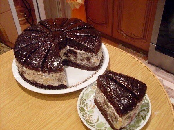 """Лучшие кулинарные рецепты: Торт """"Африканская ромашка"""""""
