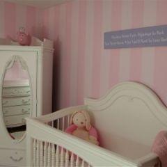Beautiful Pink Baby Girl's room