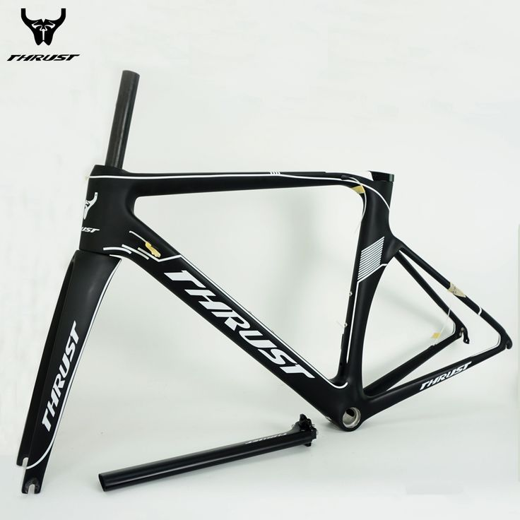 THRUST Carbon Bike Frame 700C Road Bicycle Carbon Road Frame BSA BB30 Chinese Carbon Frames 480 500 520 540 560mm