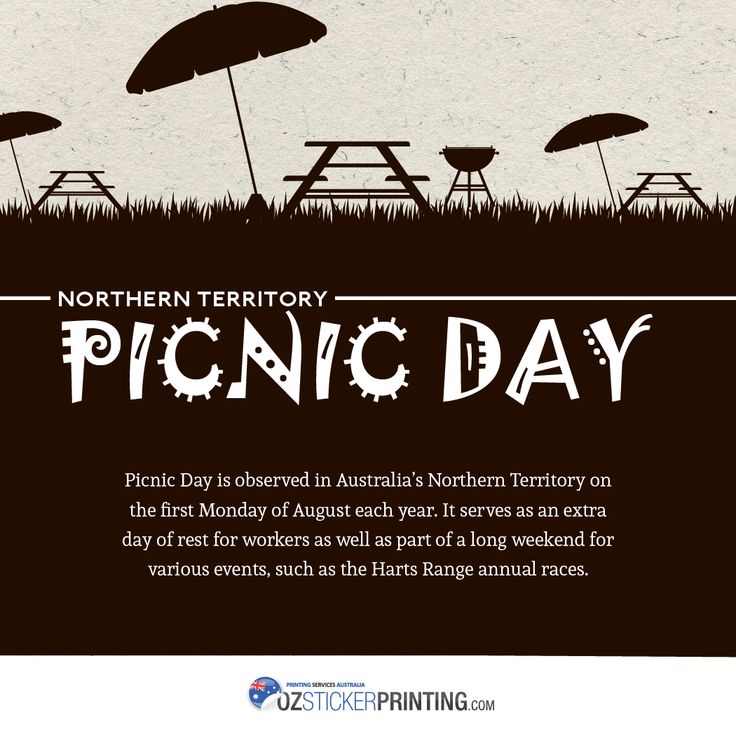 Northern Territory Picnic Day