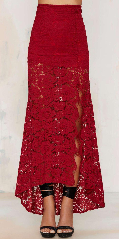 Best 25+ Lace maxi skirts ideas on Pinterest | Maxi skirts ...