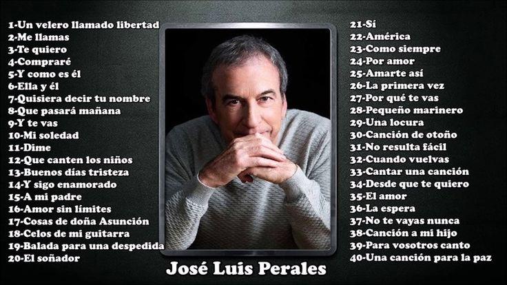 José Luis Perales Youtube Videos Music