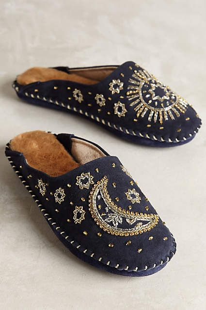 Jasper & Jeera Celestial Slippers - anthropologie.com