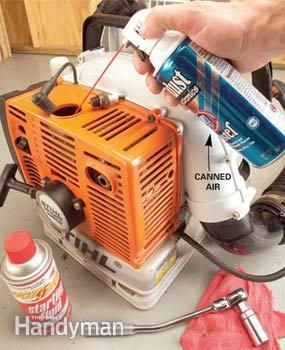 Two-Cycle Small Engine Start Up Tips | The Family Handyman
