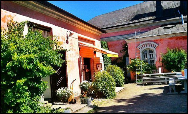Coffee shop in Suomenlinna
