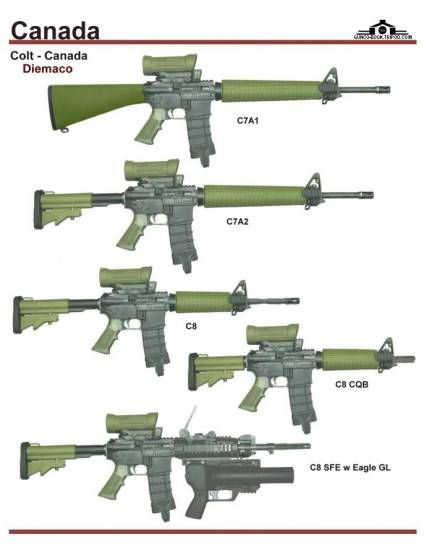 "CF Rifles and Carbines - Why can't we Canadian's hunt with a civilian semi-automatic version of the C7A1 or C7A2 (barreled longer than 18 1/2"")? You Yank's got it good!"