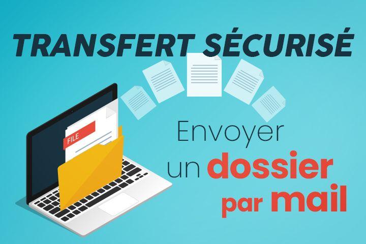 Comment Envoyer Un Dossier Par Mail Reponse Par Transfert Securise Dossier Securite Informatique Transfert