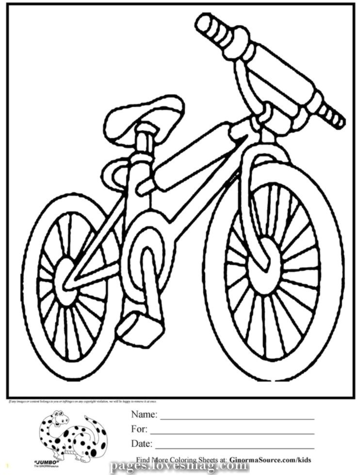 21+ Free bicycle safety coloring pages free download