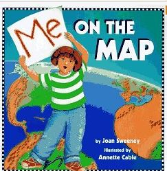 """stellar-students blog lesson on continents and oceans with a youtube video for """"Me on the Map"""""""