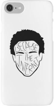 Because The Internet - Black iPhone 7 Cases
