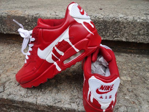 Air Max 90 Etsy Sapatos Diy Sapatos Saltos