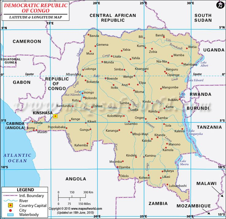 85 best latitude longitude maps images on pinterest latitude latitude and longitude of democratic republic of congo is degrees s and degrees e map showing the geographic coordinates of democratic republic of congo gumiabroncs Images