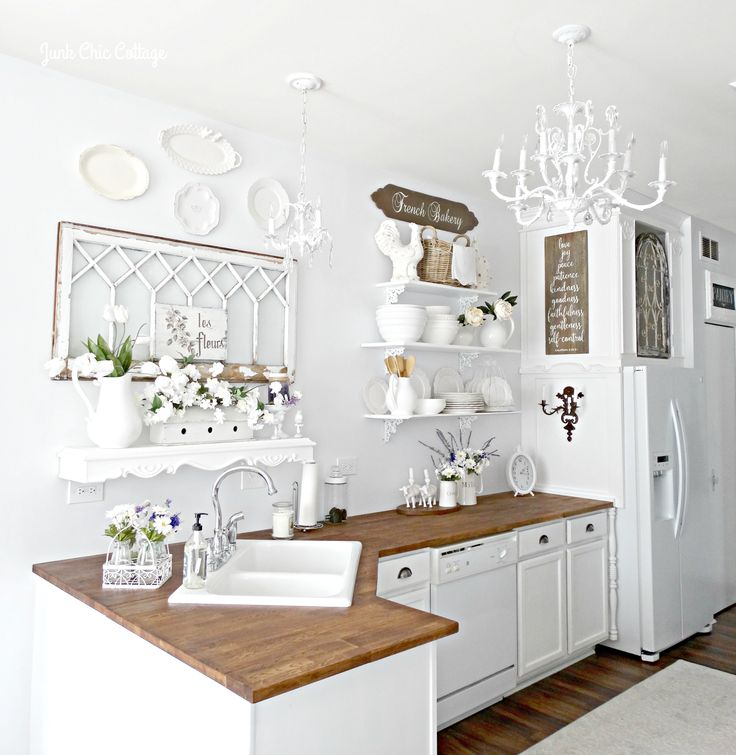 Simple Hi Everyone Well the open shelves in the kitchen won and the bakery cabinet was