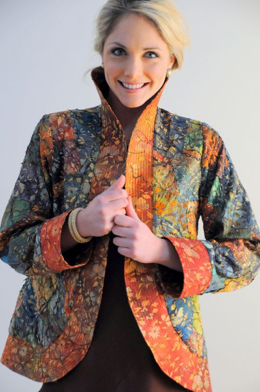 Carter Smith Designs: Assembled Silk Opera Coat