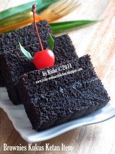 Brownies Kukus Ketan Item (by Ordinary kitchen)