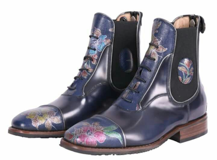 24 Hours To Win These Custom Floral Deniro Paddock Boots