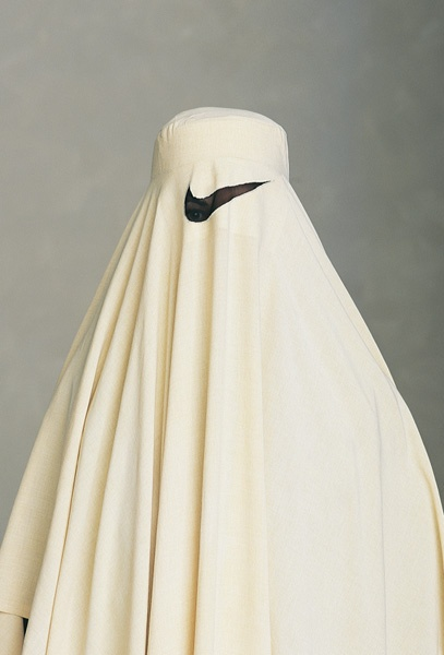 Nike | White Burka | More than a sport brand | Pinterest ...