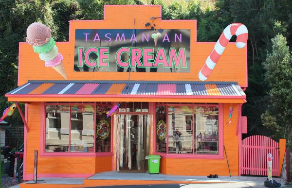 Choo Chews Lolly Shop in Strahan, West Coast #Tasmania. Photo provided by Discover Strahan; article for www.think-tasmania.com