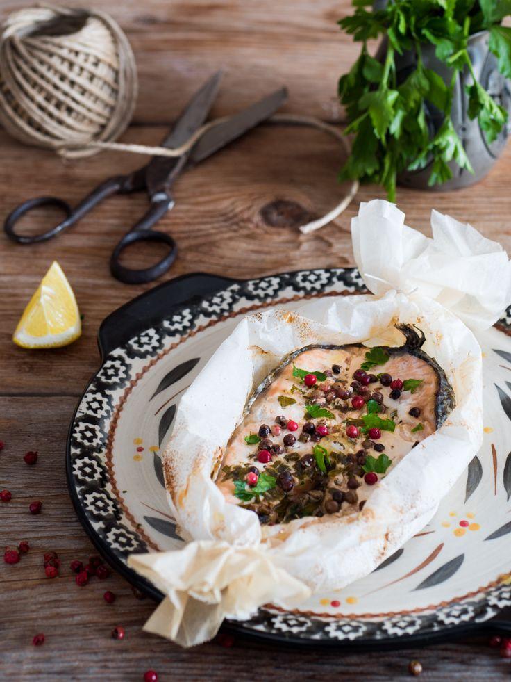 Salmone al cartoccio – ricetta gustosa e leggera