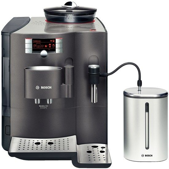 Verobar AromaPro 600 bosch espresso volautomaat titanium TES71621RW is een TOP Bosch koffiezetter. Kies hier de beste Bosch koffiezetapparaten!