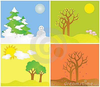 stock photo: all seasons