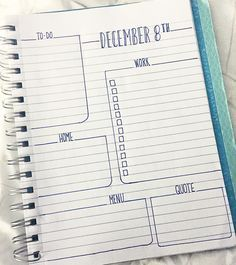 """""""•December 8th• This week I'm stepping away from my #passionplanner in lieu of my #bulletjournal. It's a super hectic week and looking at a weekly spread…"""""""