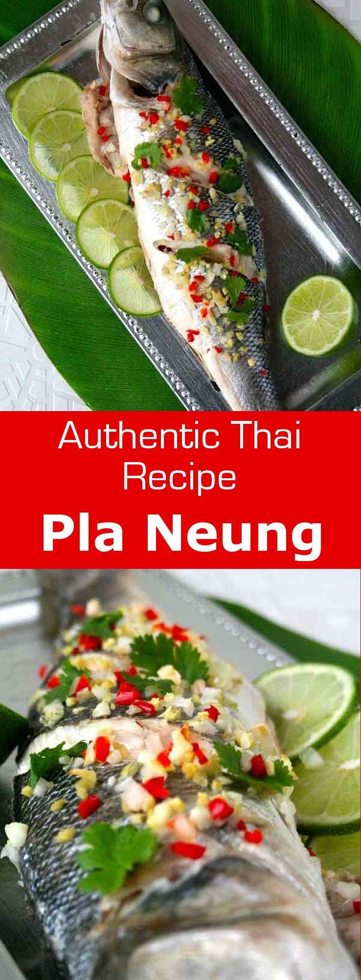Pla neung or bplah neung is a very simple thai recipe, which emphasizes the delicate flavor of the fish. #thailand #fish #196flavors