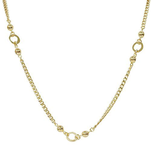 """24"""" 14K Yellow Gold Chain Womens Curb Necklace 15.4 Grams Pompeii3 Inc."""