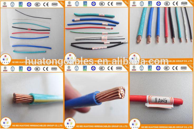 THHN NYA AWG MCM MM2 - calibre de cables americanos (american wire gauge) y otros...