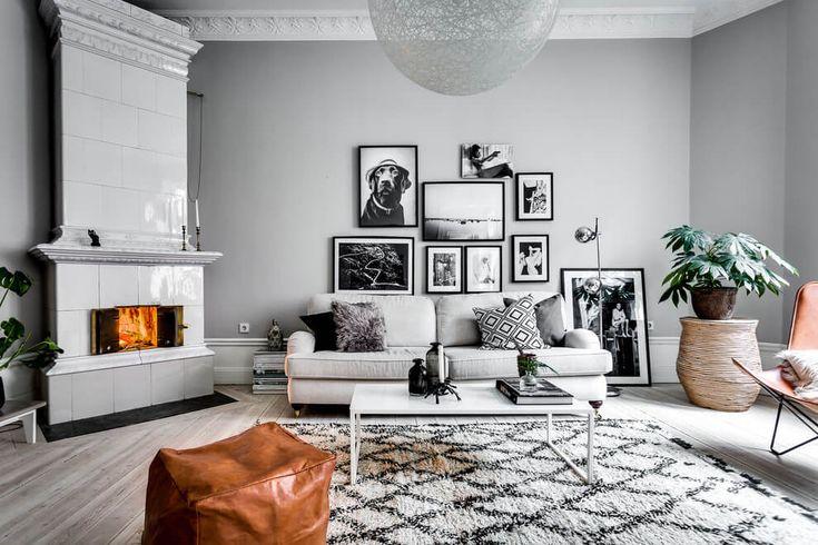 Roslagsgatan Apartment by Alexander White | HomeAdore