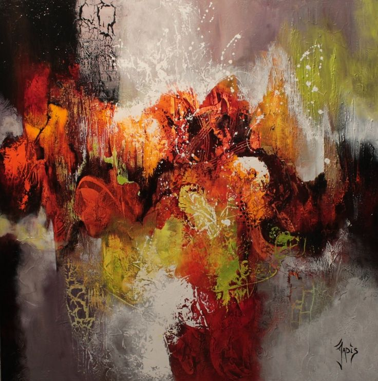 17 best images about jadis weonea artist on pinterest for Abstraction geometrique peinture