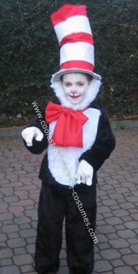 coolest cat in the hat costume - Cat In The Hat Halloween Costume Ideas