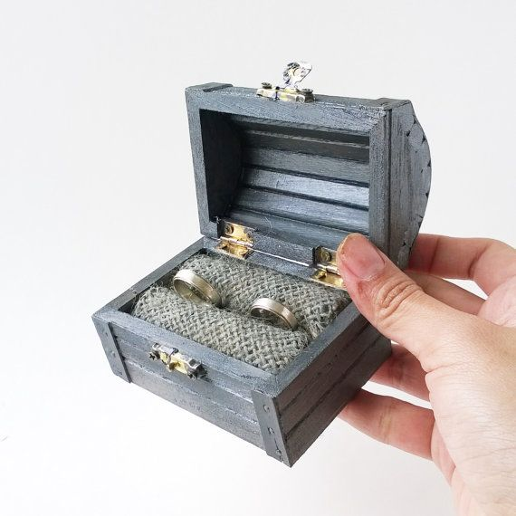 35 best Ring Bearer Boxes and Chests images on Pinterest Wedding