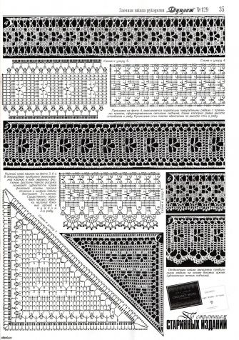 Crochet Diagrams, Free Crochet