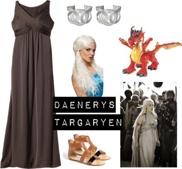 Daenery targaryen costume game of thrones 5 easy diy for Game of thrones daenerys costume diy