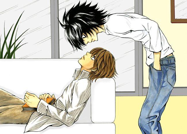 Death Note L x Light