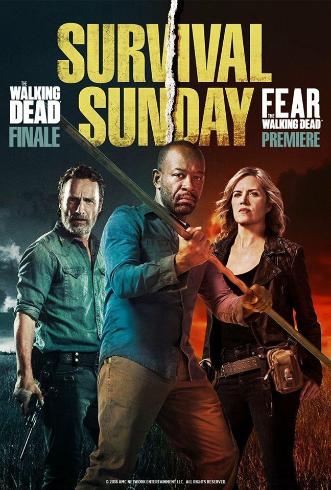Crossover Poster. In April 15, The Walking Dead Season 8 ...