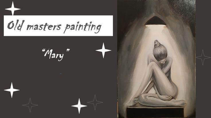 Oil painting / Spotlight Serie / Figures / Mary