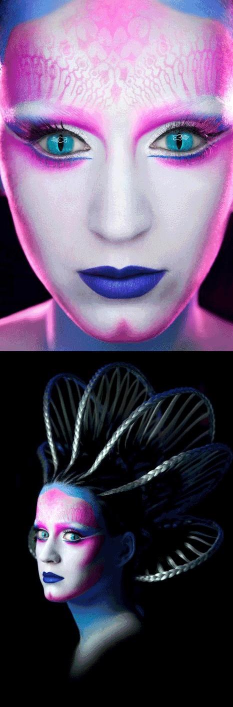 the alien wowHalloween Stuff, Spaces Costumes, Halloween Costumes Ideas, Alternative Life, Katy Perry, Spaces Theme, Aliens Chic, Aliens Halloween, Theme Inspiration