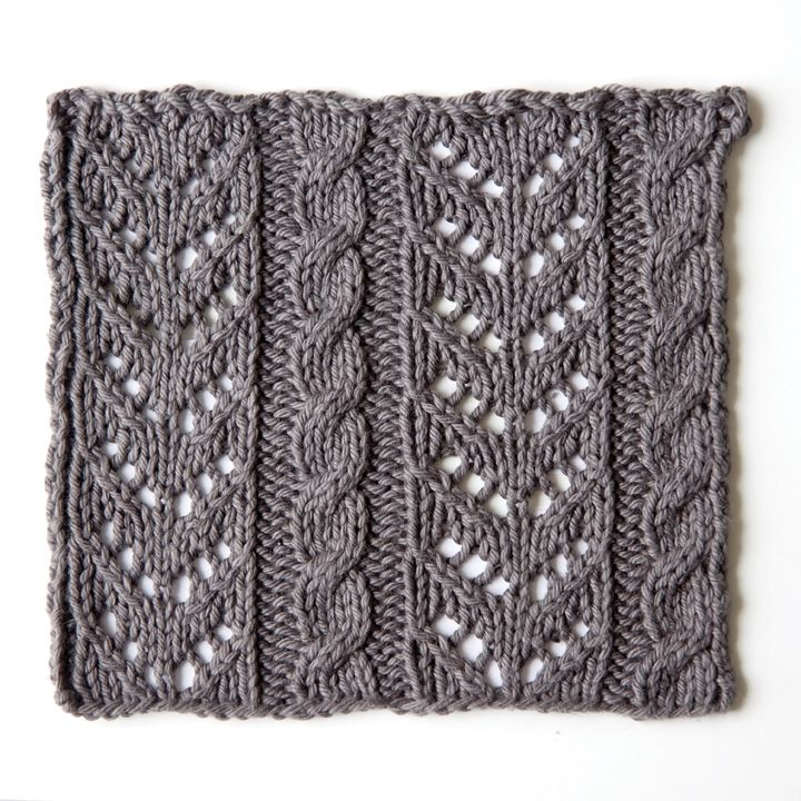 How to knit lace and cable stitch This is a very cool website, very helpful