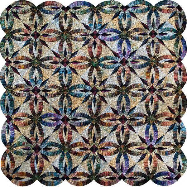 wedding star quilt pattern - Google Search