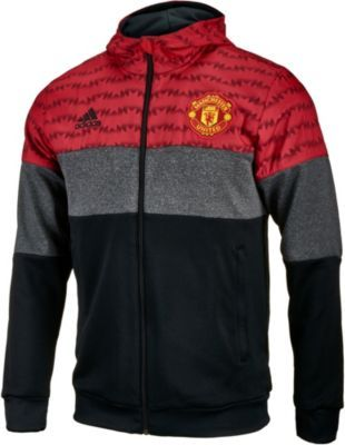 adidas Manchester United Fleece Hoodie. Get yours from www.soccerpro.com right now!