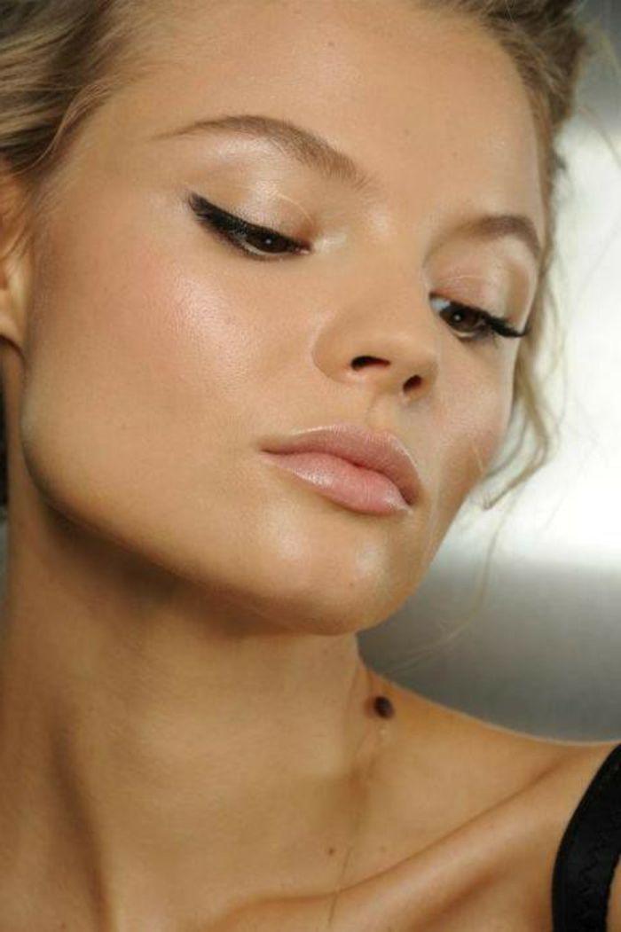 natürliche schminke schminktipps ideen für dezentes makeup glanz glänzende fr…