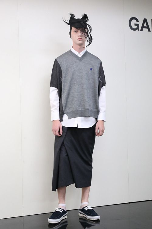 [No.21/72] GANRYU 2014春夏コレクション | Fashionsnap.com